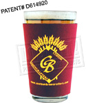 Pint Glass Sleeve - Neoprene