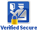This site is secured with the most advanced encryption available