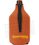 Growler cozy - Neoprene - Collapsible - 64 oz